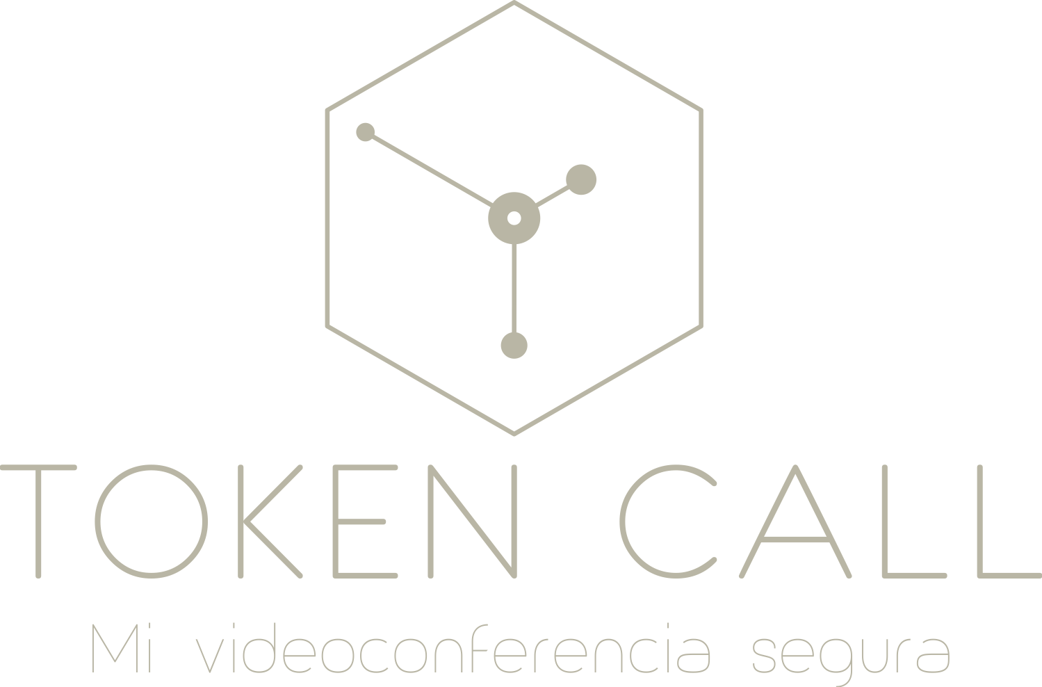 token call logo frase 2